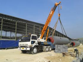 Rig Lift Down Handled By Sunan Group PT ELNUSA