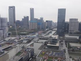 View From One Of Our Partner Agent Office in Ningbo, China (March 2017)